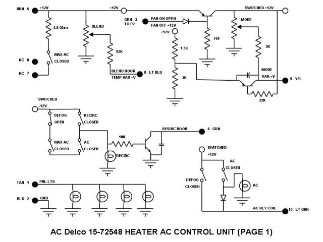silveradosierra com • how to repair gmc ck series trucks hvac panel light circuit