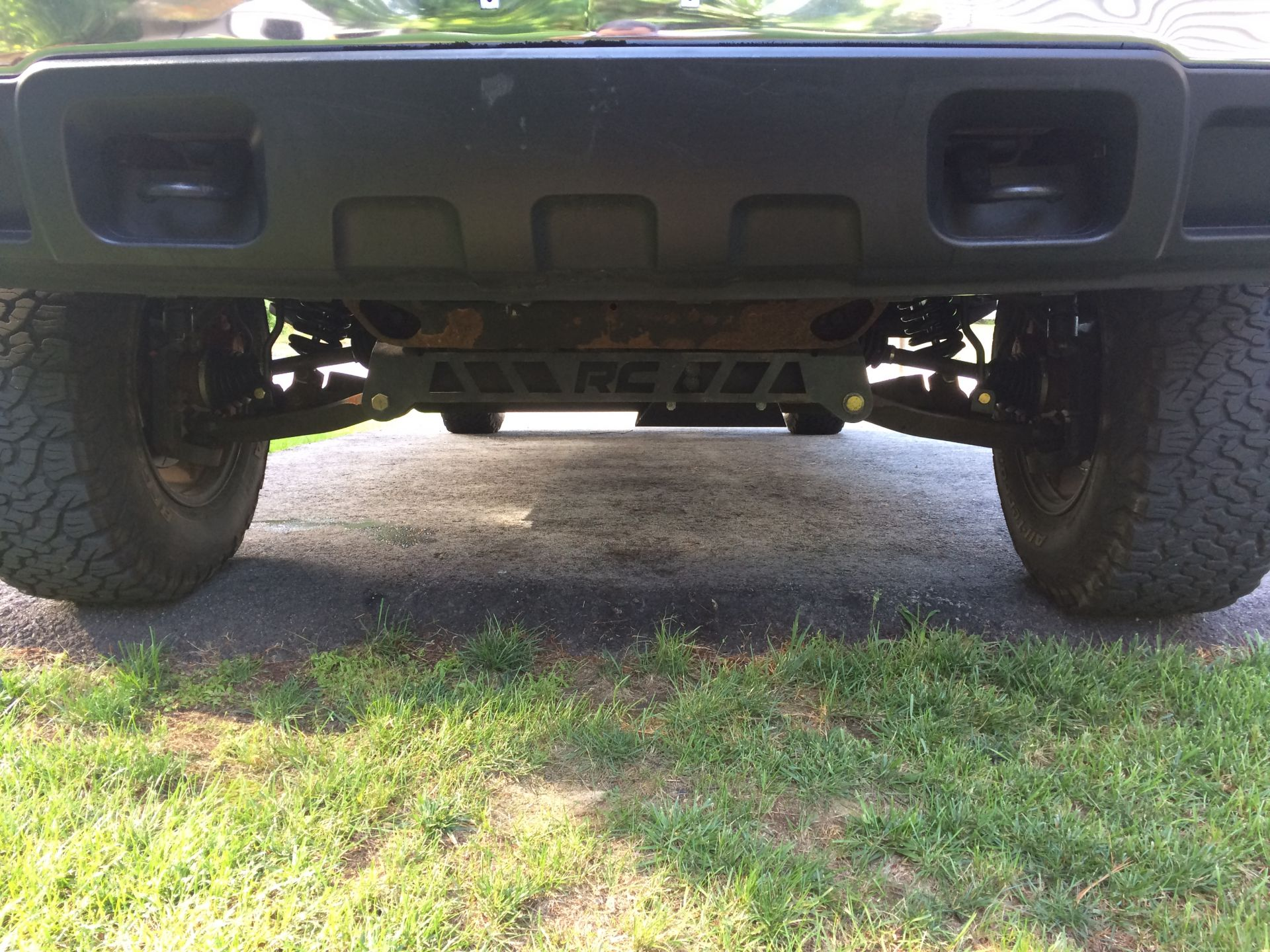 Front lift view
