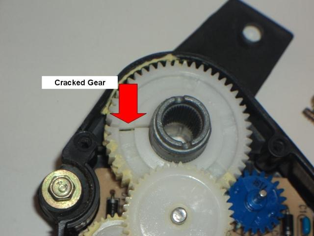 SilveradoSierra com • How To Fix Mode/Blend Door Actuator Problems