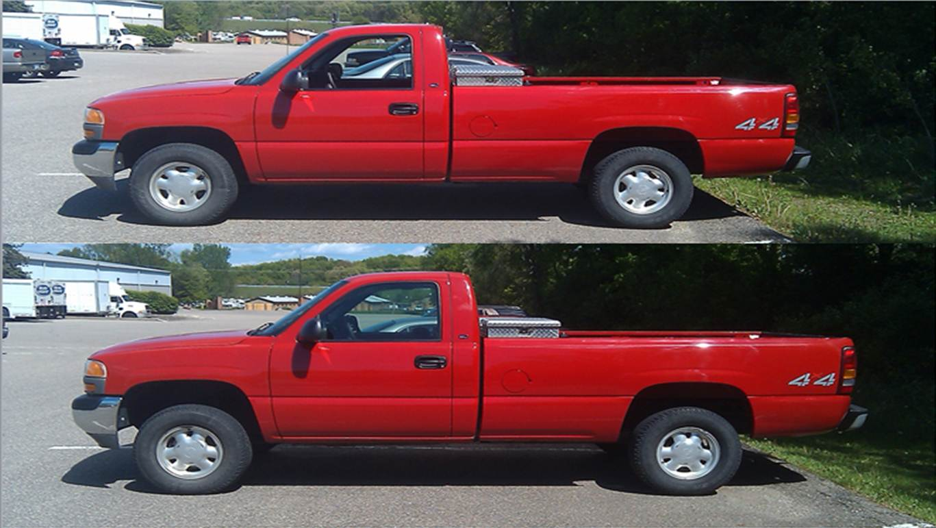 Silveradosierra Com Official Leveling Kit Picture Info