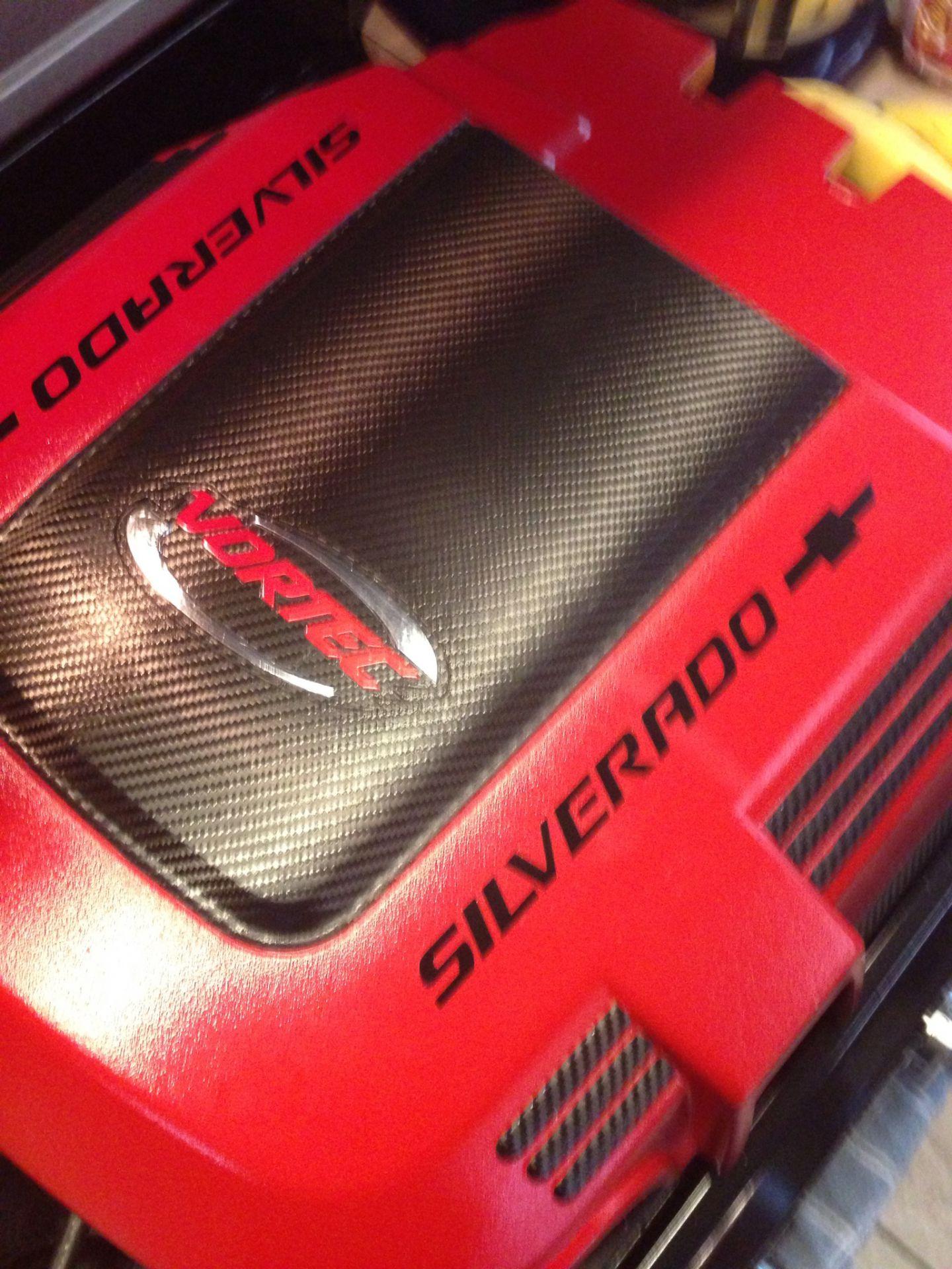 SilveradoSierra.com • Engine Cover Mod : Vortec 5300 5.3L ...