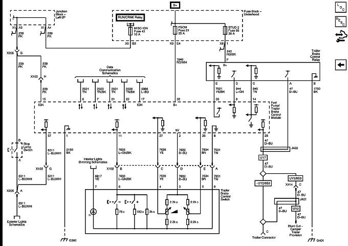 2012 gmc sierra wiring trailer brakes  description wiring